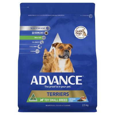Advance Ocean Fish Terriers Toy/Small Breed Adult Dry Dog Food 2.5kg