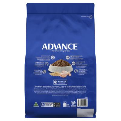 Advance Toy/Small Breed Mature Chicken Dry Dog Food 3kg