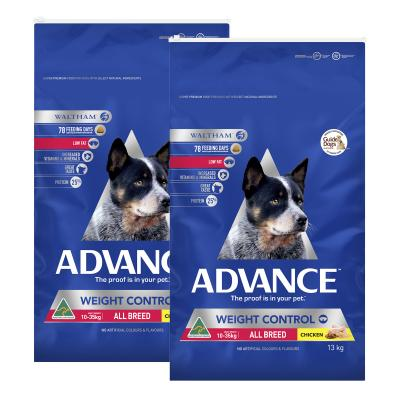 Advance Weight Control Chicken All Breed Adult Dry Dog Food 26kg