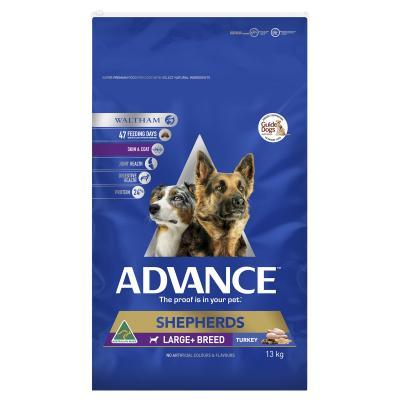 Advance Turkey Shepherds Large/Giant Breed Adult Dry Dog Food 13kg