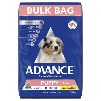 Advance Puppy Plus Growth All Breed Chicken Dry Dog Food 20kg