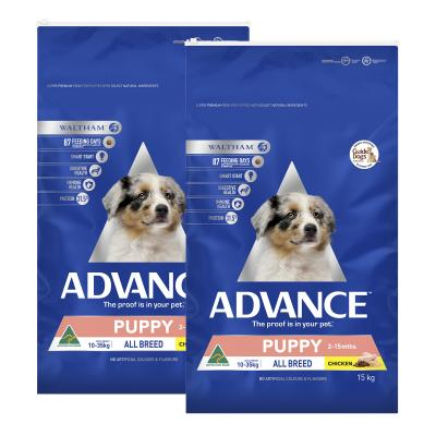 Advance Chicken All Breed Puppy 2-15 Months Dry Dog Food 30kg