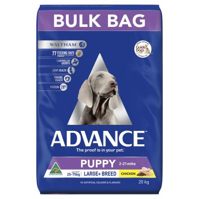 Advance Puppy Plus Growth Large Breed Chicken Dry Dog Food 20kg