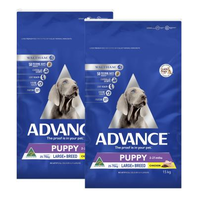 Advance Puppy Plus Growth Large Breed Chicken Dry Dog Food 30kg