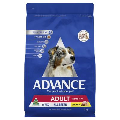 Advance Chicken All Breed Adult 15 Months - 6 Years Dry Dog Food 3kg