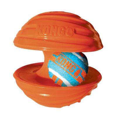 KONG Rambler Rubber Squeak Ball Large Toy For Dogs