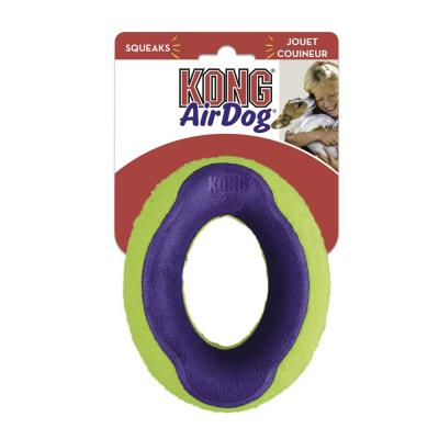 KONG AirDog Squeaker Oval Nonabrasive Felt Large Toy For Dogs