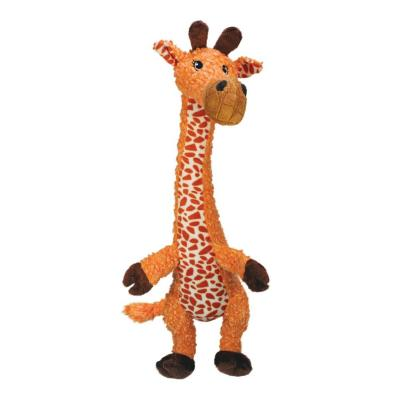 KONG Shakers Luvs Giraffe Plush Squeak Small Toy For Dogs