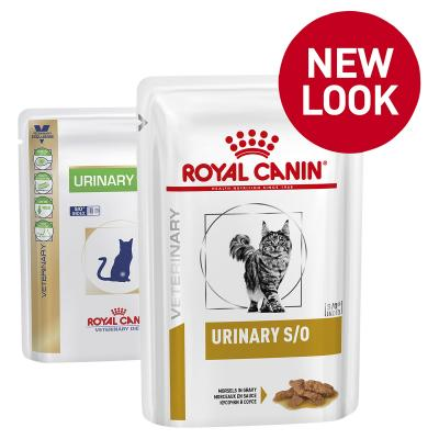 Royal Canin Veterinary Diet Feline S/O Urinary Pouch Wet Cat Food 100gm x 12 (NH234)