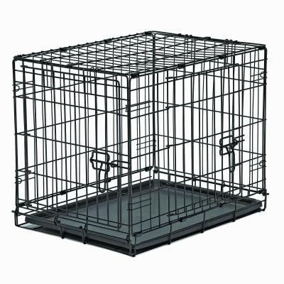 Metal Dog Crate Double Door 24inch