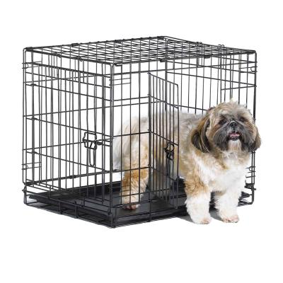 Metal Dog Crate Double Door 24inch