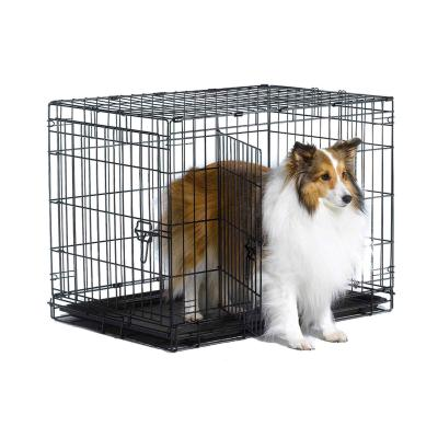 Metal Dog Crate Double Door 30inch