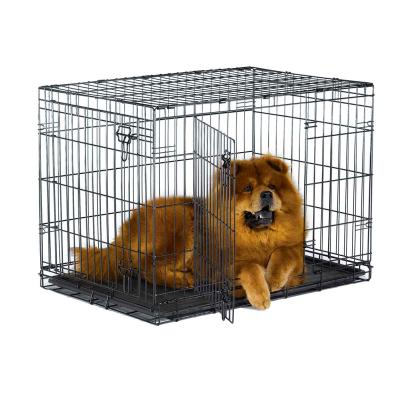 Metal Dog Crate Double Door 36inch