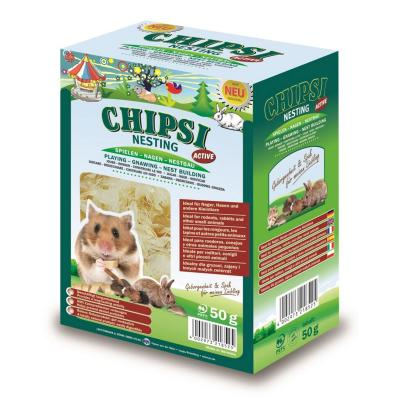 Chipsi Nesting Active Softwood Bedding For Small Animals 50g