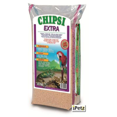 Chipsi Extra Beechwood Bedding Litter XXLarge For Reptiles Amphibians And Birds 15kg