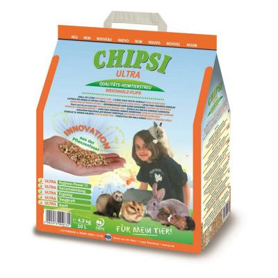 Chipsi Ultra Softwood Litter For Small Animals 10L/4.3kg