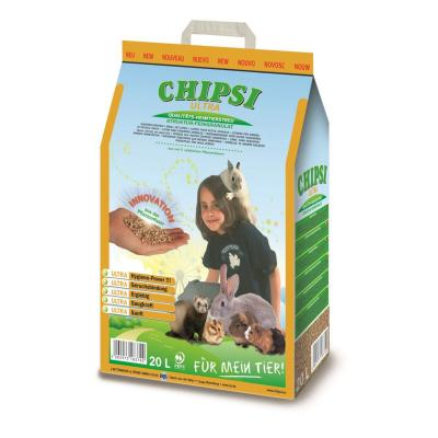 Chipsi Ultra Softwood Litter For Small Animals 20L/8.6kg