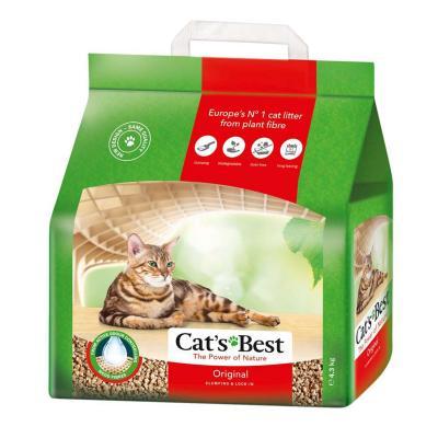 Cats Best Original Wood Plant Fibre Clumping Litter 10L/4.3kg
