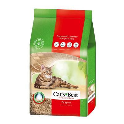 Cats Best Original Wood Plant Fibre Clumping Litter 30L/13kg