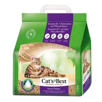 Cats Best Smart Pellets Wood Plant Fibre Clumping Litter 10L/5kg