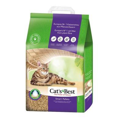 Cats Best Smart Pellets Wood Plant Fibre Clumping Litter 20L/10kg