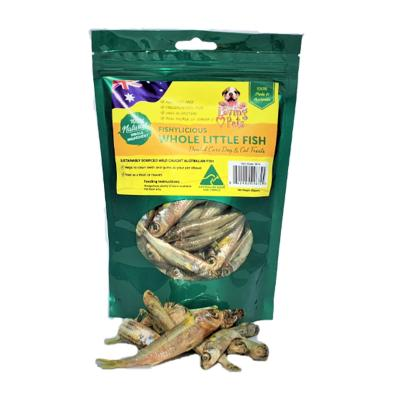 Loving Pets Fishylicious Whole Dried Little Fish Treats For Dogs And Cats 100gm