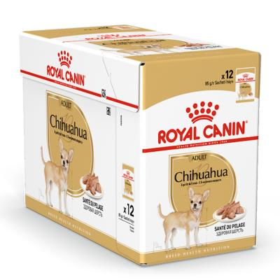 Royal Canin Chihuahua Adult Loaf Pouches Wet Dog Food 12 x 85g