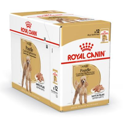Royal Canin Poodle Adult In Gravy Pouches Wet Dog Food 85g x 12