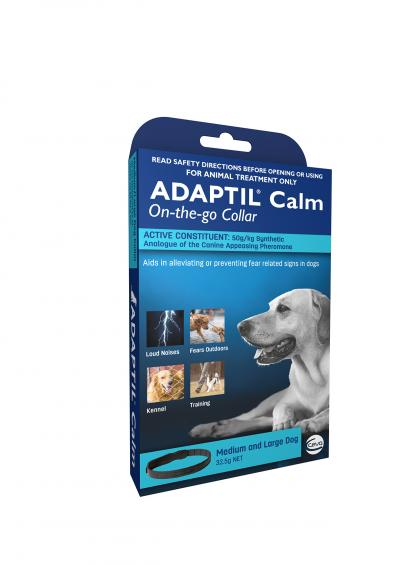Adaptil Calm On-The-Go Collar For Medium And Large Dogs 70cm Fits Necks Up To 62.5cm