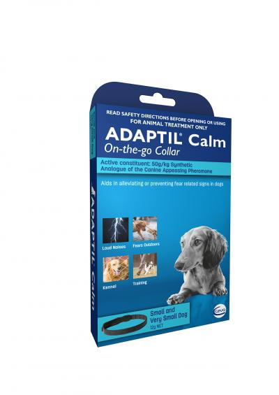 Adaptil Calm On-The-Go Collar For Small Dogs 45cm Fits Necks Up to 37.5cm