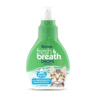 Tropiclean Fresh Breath Drops For Cats 65ml