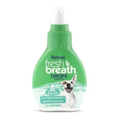 Tropiclean Fresh Breath Drops For Dogs 65ml