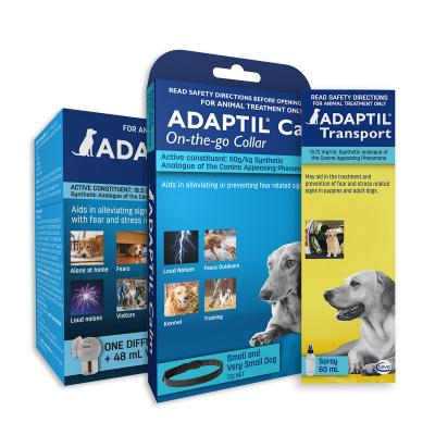 Adaptil Complete Care For Small Dogs Calm Home Diffuser Set And Spray With On-the-Go Collar 45cm Fits Necks Up to 37.5cm