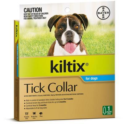 Kiltix Tick Collar For Dogs X 5