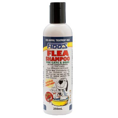 Fidos Flea Shampoo For Dogs And Cats 250ml