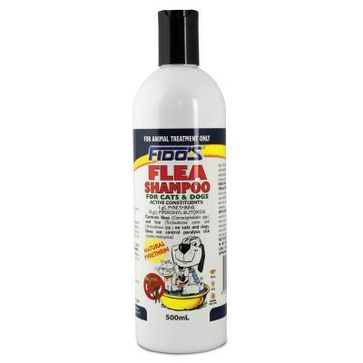 Fidos Flea Shampoo For Dogs And Cats 500ml