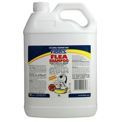 Fidos Flea Shampoo For Dogs And Cats 5L