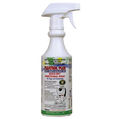 Fidos Fleatrol Plus Flea Spray for Dogs and Household 500ml