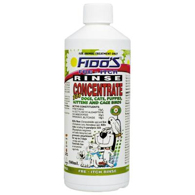 Fidos Fre - Itch Rinse Concentrate For Dogs And Cats 500ml