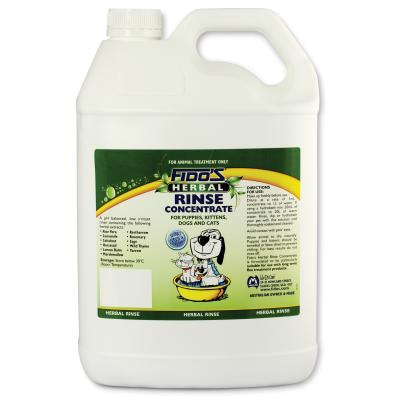 Fidos Rinse Concentrate Herbal For Dogs And Cats 5L