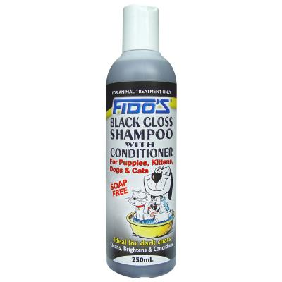 Fidos Shampoo Black Gloss For Dogs And Cats 250ml