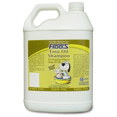 Fidos Shampoo Emu Oil For Dogs And Cats 5L