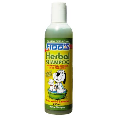 Fidos Shampoo Herbal For Dogs And Cats 250ml