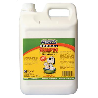 Fidos Shampoo Herbal For Dogs And Cats 5L