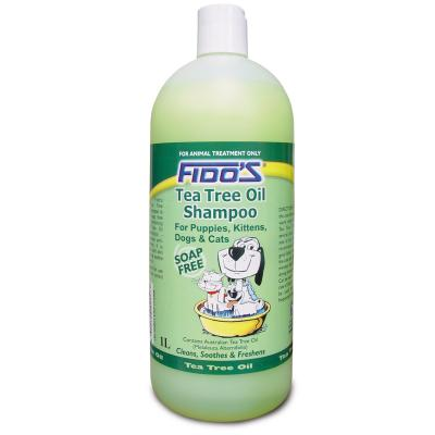 Fidos Shampoo Tea Tree Oil For Dogs And Cats 1L
