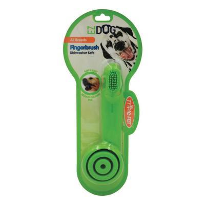 TriplePet EZDOG Finger Brush For Dogs