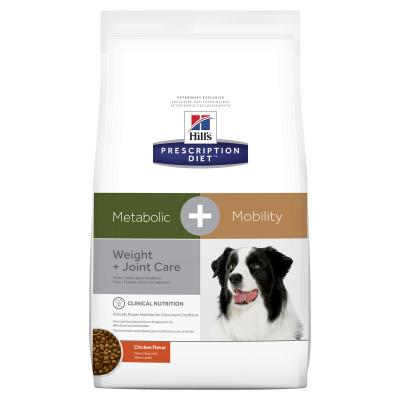 Hills Prescription Diet Canine Metabolic + Mobility Dry Dog Food 3.86kg