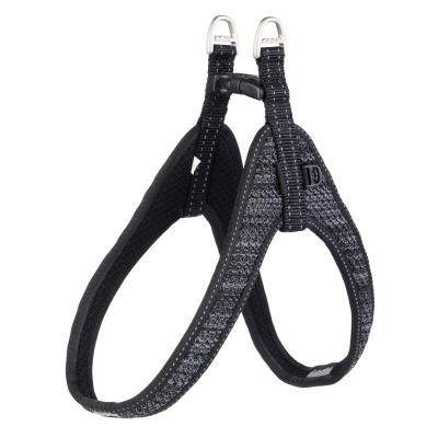 Rogz Fast Fit Harness Black Medium/Large 58cm Chest