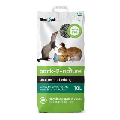 Back 2 Nature Small Animal Bedding And Litter 10L