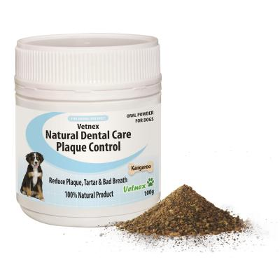 Vetnex Natural Dental Care Powder Kangaroo Flavour For Dogs 100g